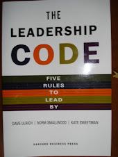 The Leadership CODE by Ulrich, Smallwood, and Sweetman