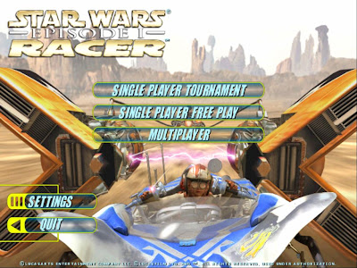 Star Wars Episode I Racer - English Version - Portable