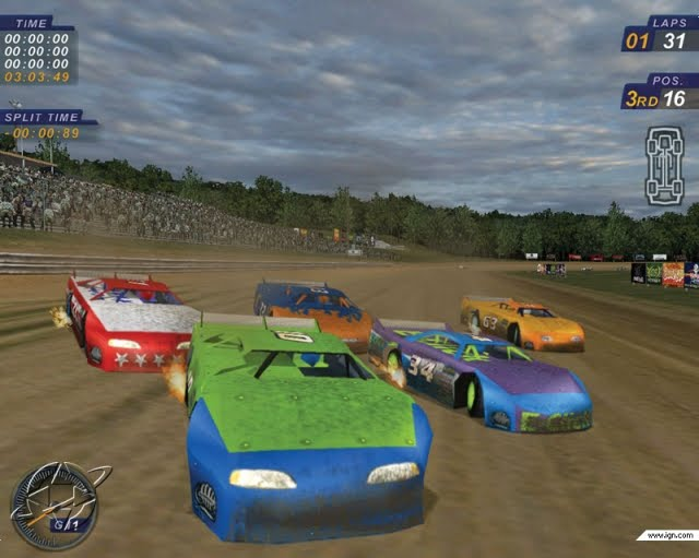 Free Dirt Track Stock Car Racing Games