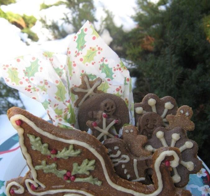Raw Gingerbread Cookies:)