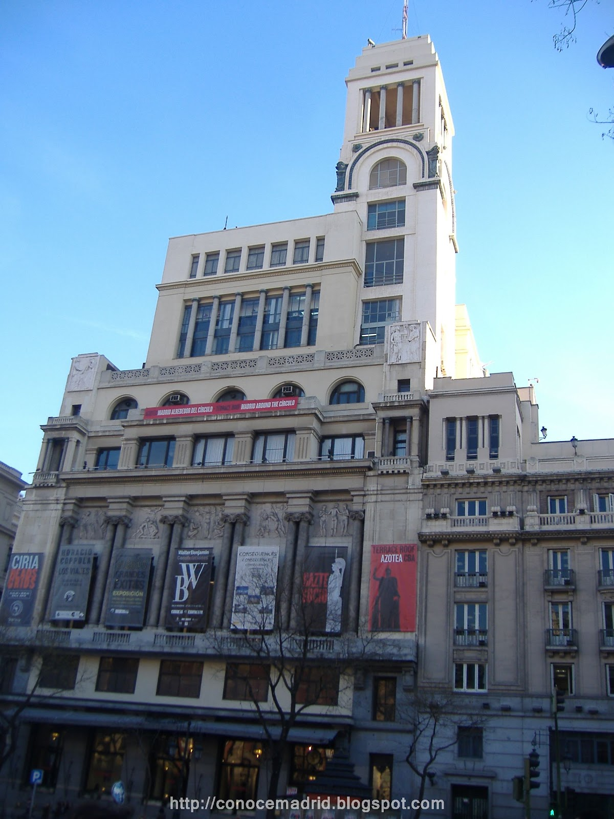Círculo de Bellas Artes , en la calle de Alcalá, 42