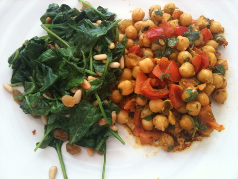 Simply Healthy Wellness: Curried Garbanzo Bean Salad