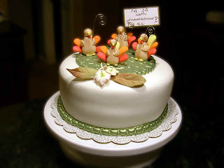 Awesome Thanksgiving Cakes