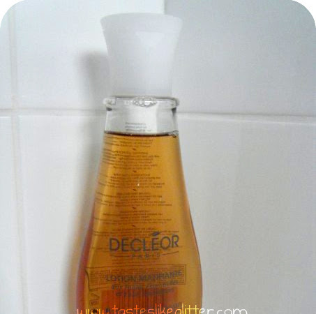 Decléor Matifying Lotion (Toner) Review.