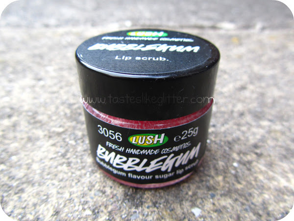 Lush Bubblegum Lip Scrub.