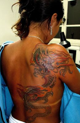 Japanese Dragon Tattoo For Women