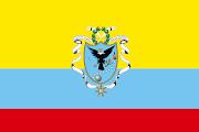Bandera de la Gran Colombia (1820). Bandera de la Gran Colombia (1821) band