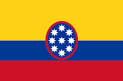 Bandera de los Estados Unidos de La Nueva Granada (1861) band