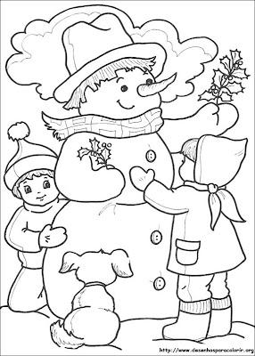 desenhos sobre o natal 2