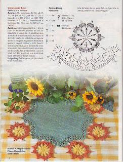 toalhinha com aplicação de flores de croche