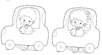 carrinho menino e menina