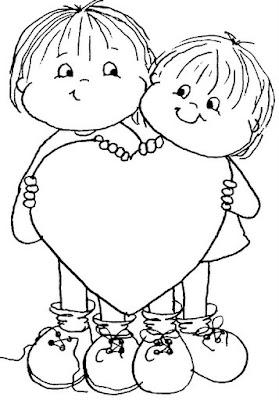 de menino e menina para colorir desenhos para pintar desenho de menino ...
