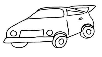 carros para colorir