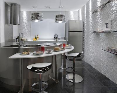 cozinha americana decoração