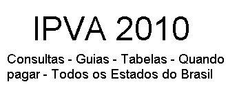 IPVA 2010