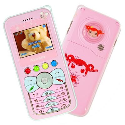 celular infantil barbie