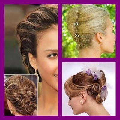 penteados para festas 2011