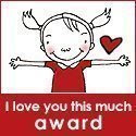 I love you this much award.