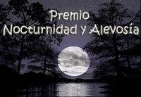 """Premio """"Nocturnidad y alevosía""""."""
