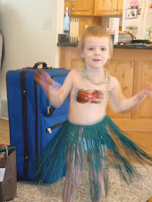 Abby's Hula girl outfit