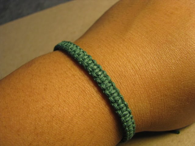 Rad Linc Crafts Square Knot Friendship Bracelet
