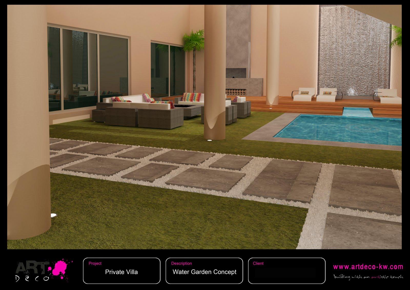Water Garden [Concept Design & Layout] Al Bidda Kuwait 2010 title=