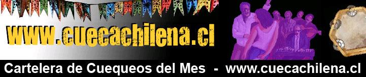 Cartelera de Cuequeos de CuecaChilena.cl