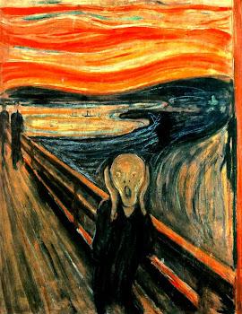 Museos del Mundo. El Grito. E. Munch. Galería Nacional de Oslo