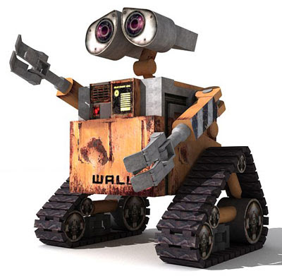 3D Graphic - Wall•E