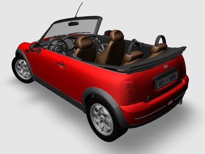 3D Models - Mini Cooper Caprio