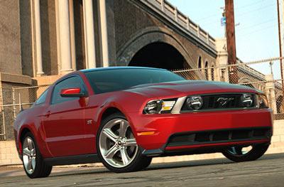 Ford Mustang GT 2010 Screensaver (Mac & Win)