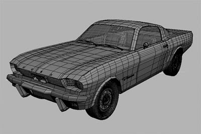 3D Models - Ford Mustang 1966
