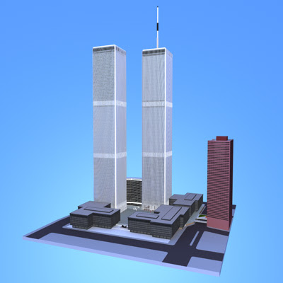 3D Model - World Trade Center (HI Detailed)