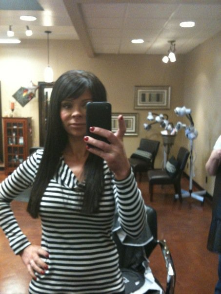 "Cap hair ""Extensivies"" in my very short hair. ""Extensives"" are a type of"
