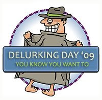 delurking day logo