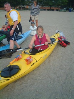 My Love in kayak