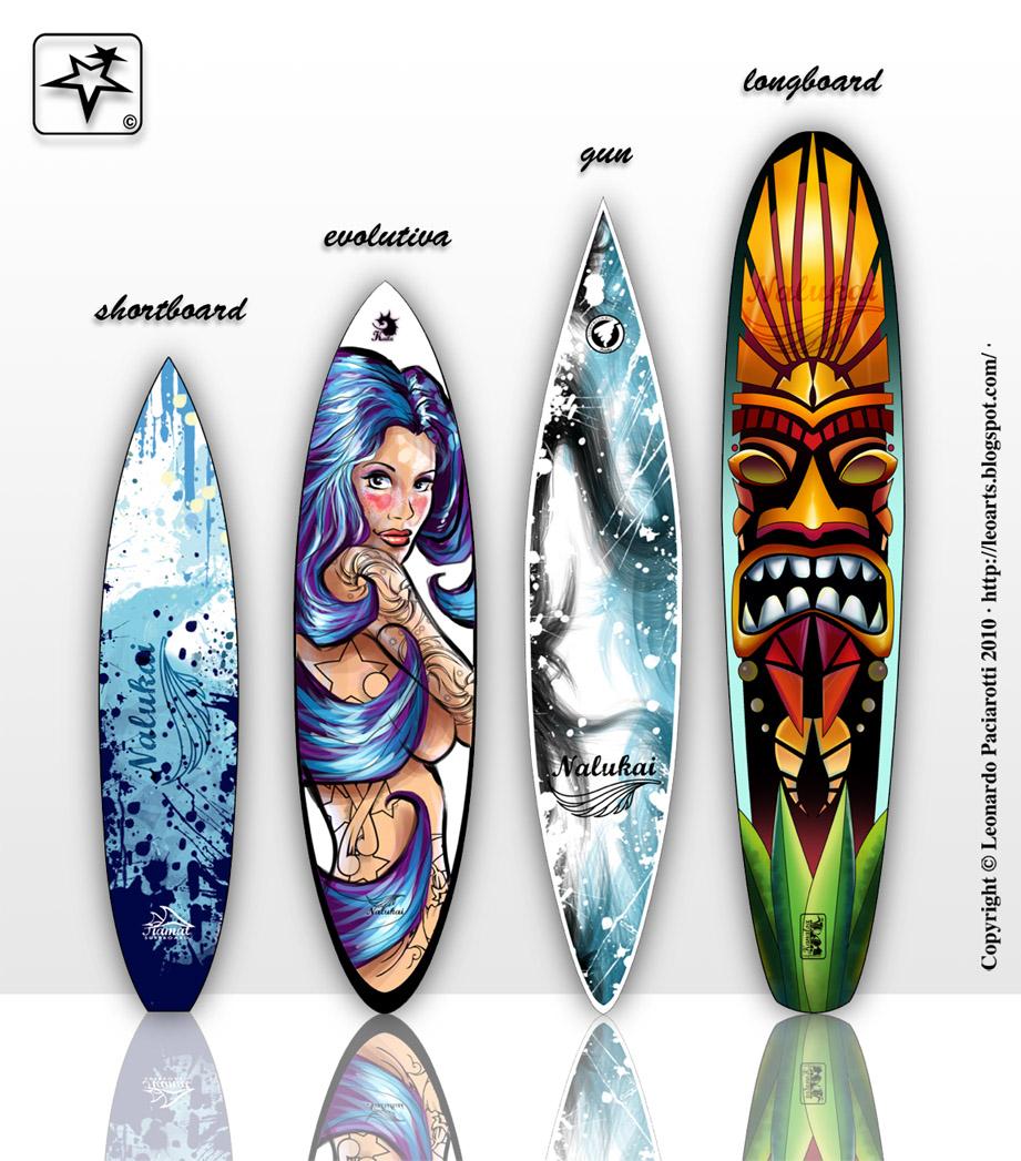 Leonardo paciarotti leoarts dise os para tablas de - Tablas de surf personalizadas ...