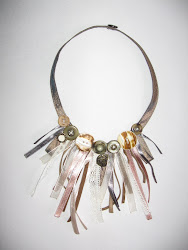 colier/ fabrick necklace (pret: 35 lei/ price: 10 EUR / $ 14)