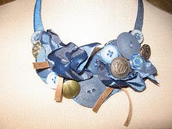 colier/ fabrick necklace (pret: 50 lei/ price: 15 EUR / $ 21)