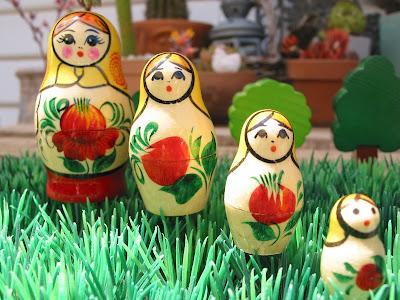 how to make babushka dolls