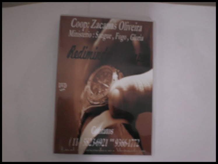 DVD do Conferencita Zacarias Oliveira!!!