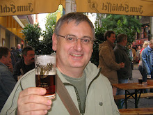 Drinking beer in Düsseldorf