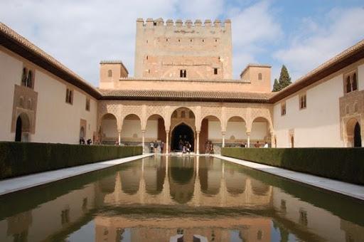 El palacio de comares iii el patio de los arrayanes - Banos arabes palacio de comares ...