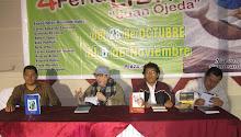 PRESENTACIÓN DE CENAREMOS EN MADRID, DE GERSON RAMÍREZ, IV FERIA DEL LIBRO DE NUEVO CHIMBOTE