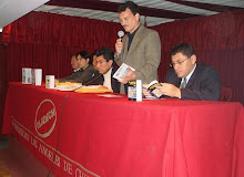 Presentación de EN NOVIEMBRE Y OTROS DÍAS, de Azágar. Auditorio ULADECH.