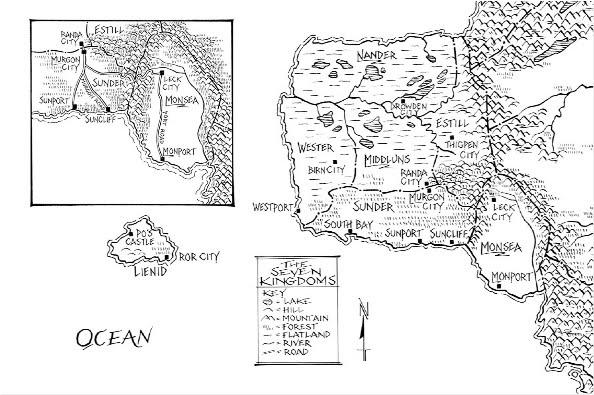 Graceling-ish RP Seven+Kingdoms+map+by+Jeffery+C.+Mathison