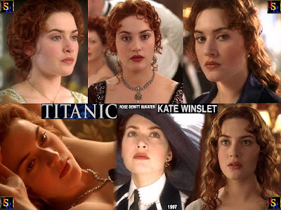 kate winslet in titanic. look like Kate Winslet as