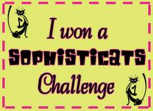 I'm a Sophisicat Challenge Winner