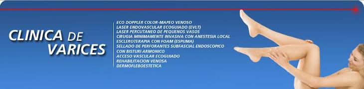 Clinica de Varices    Dr. HUGO NAVAS Hospital de Clínicas Caracas-Instituto Clínico La Florida