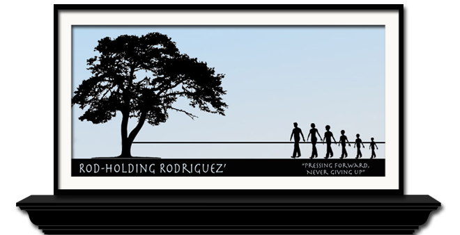 The Rod-Holding Rodriguez Family